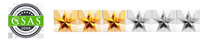 3 stars logo