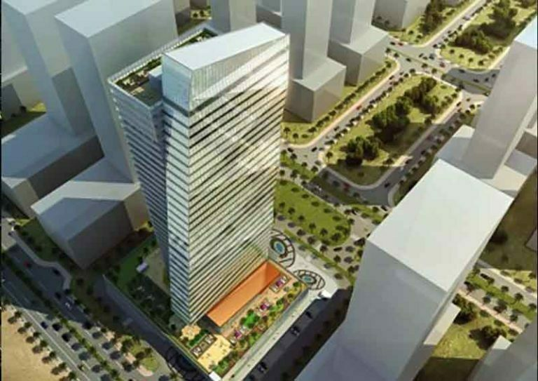 commercial building at lusail