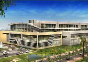 new students affairs building at qatar university