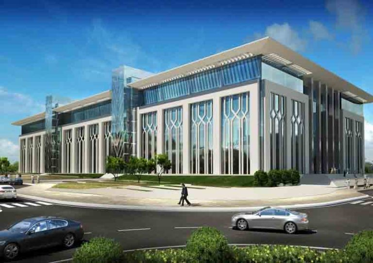 new college of law building at qatar university