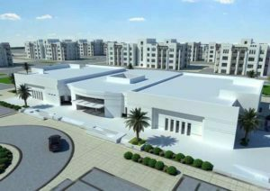 students housing at qatar university