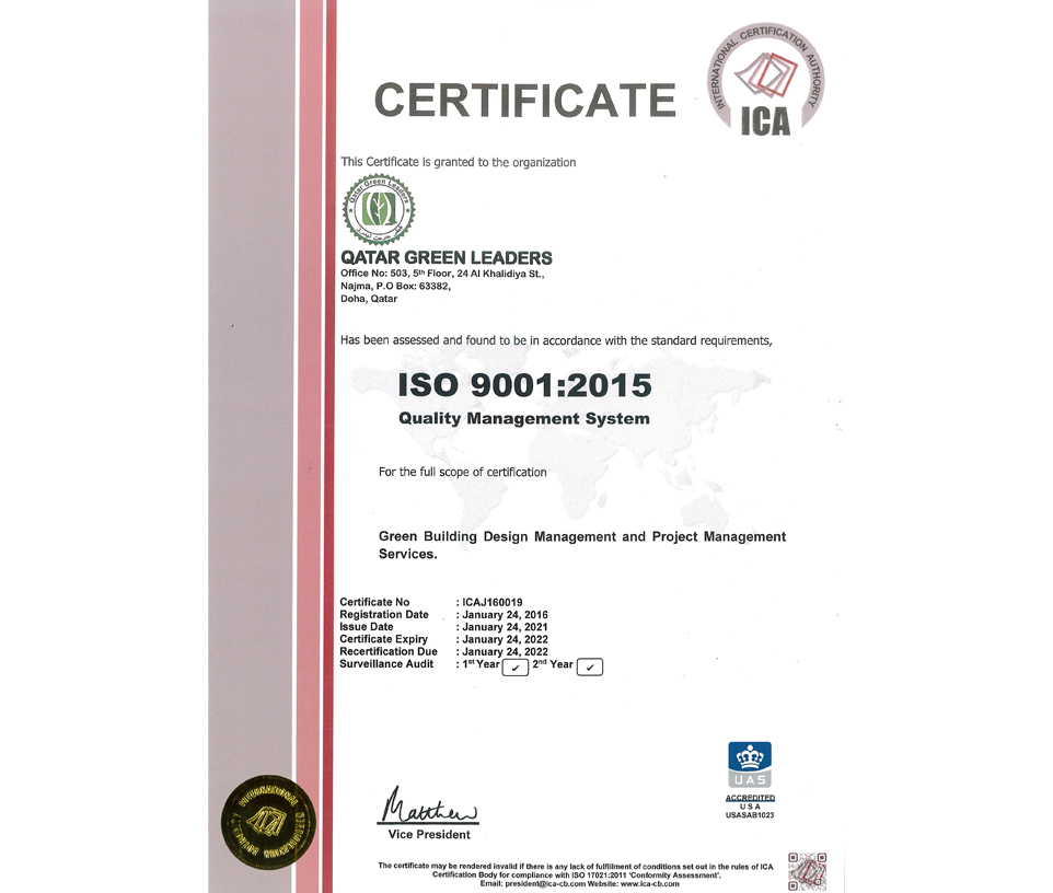 ISO 9001-20151